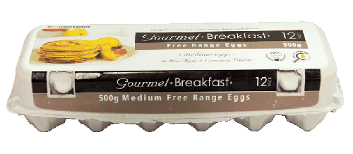 Our Brands 500g Medium Free Range Eggs