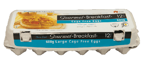 Our Brands 600g Large Cage Free Eggs