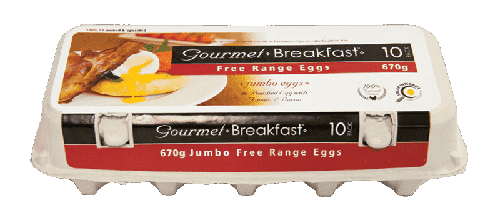 Our Brands 670 g Jumbo Free Range Eggs