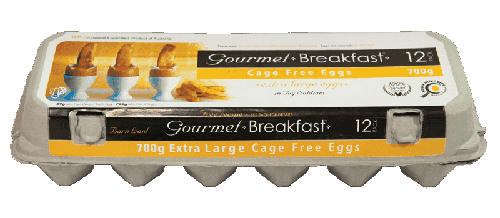 Our Brands 700g Extra Large Cage Free Eggs