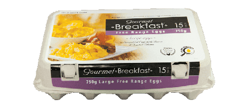 Our Brands 750g Large Free Range Eggs