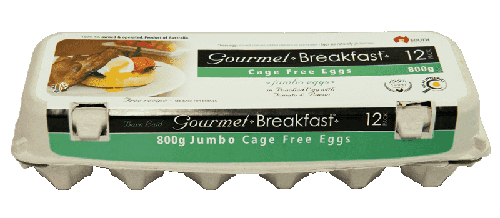 Our Brands 800g Jumbo Cage Free Eggs