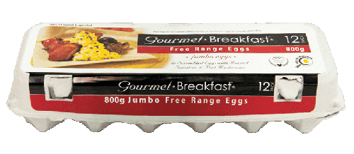 Our Brands 800g Jumbo Free Range Eggs