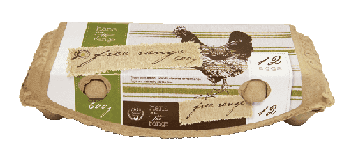 Our Brands 600g Free Range Eggs